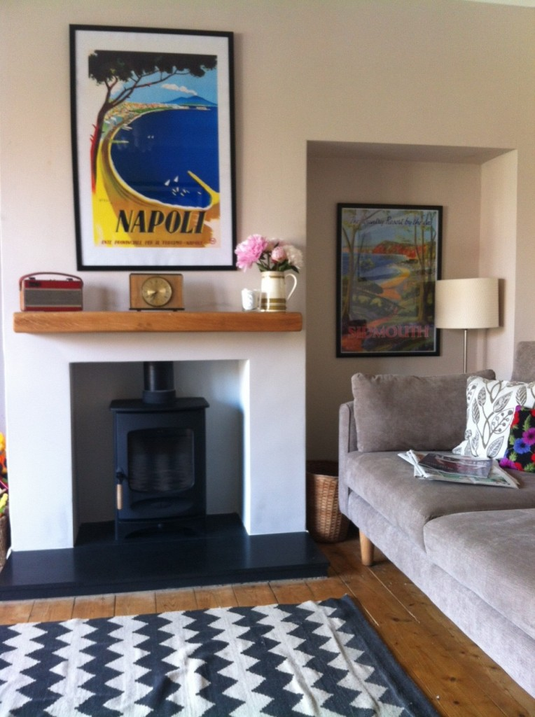 Design And Style Inspiration For Modern, 60s Living Room With Woodburner |  Country Fille Part 33